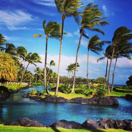 Grand Hyatt Kauai Resort & Spa: Saltwater lagoon perfection