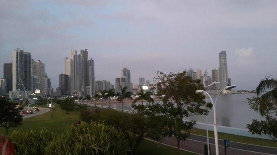 Vista de la Ciudad desde la Cinta Costera