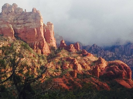Sedona Summit Resort: another view from the balcony