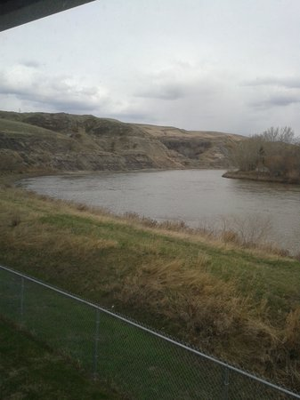 Travelodge Drumheller AB: View of Red Deer River from the room