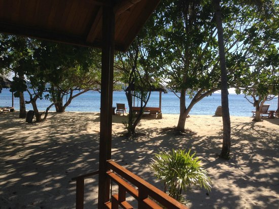 Gangga Island Resort & Spa : view from the bungalow