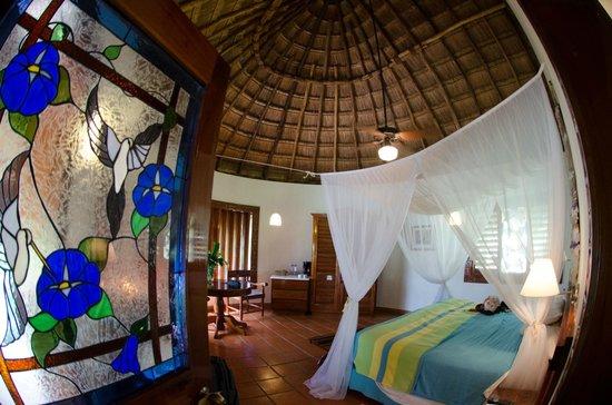 The Lodge at Chichen Itza : Lodge at Chichenitza - our room