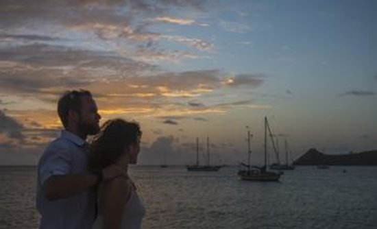 Windjammer Landing Villa Beach Resort: Sunset Boat Cruise