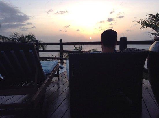 Windjammer Landing Villa Beach Resort: Estate Villa Pool/Spa Deck