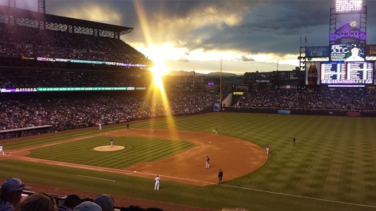Coors Field: What a View.