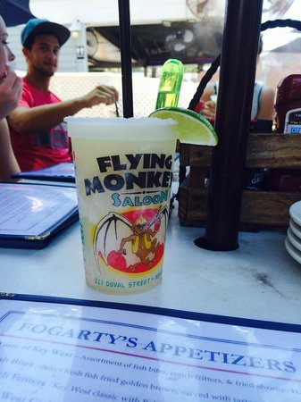 Fogarty's: my first margarita (with floater)
