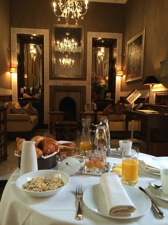 Royal Mansour Marrakech : Morning room service