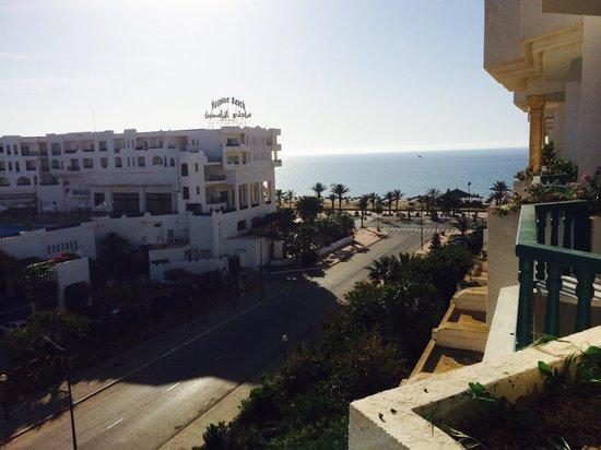 El Mouradi Hammamet : View from balcony