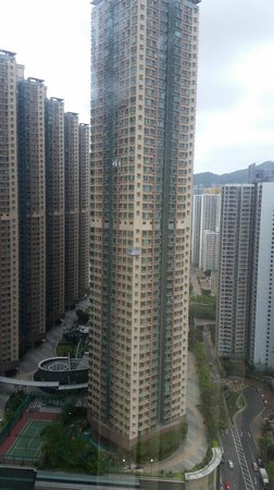 Holiday Inn Express HONG KONG KOWLOON EAST : View from the window