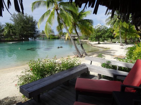 InterContinental Moorea Resort & Spa : Vue du bungalow