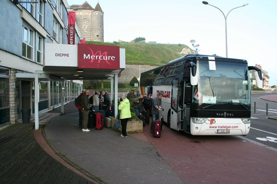 Mercure Dieppe la Presidence : My guests, arriving on April 28, 2014.