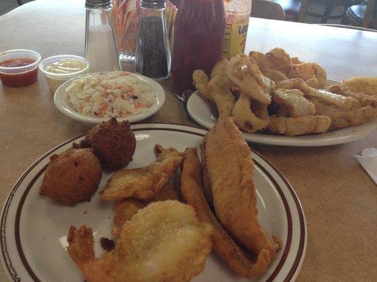 Catfish Platter Picture Of White River Fish Market