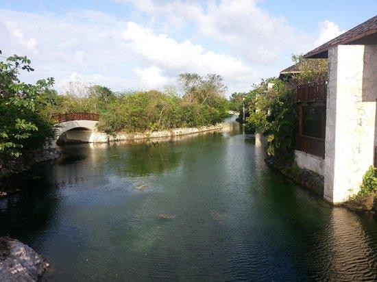 Fairmont Mayakoba: view from a bridge