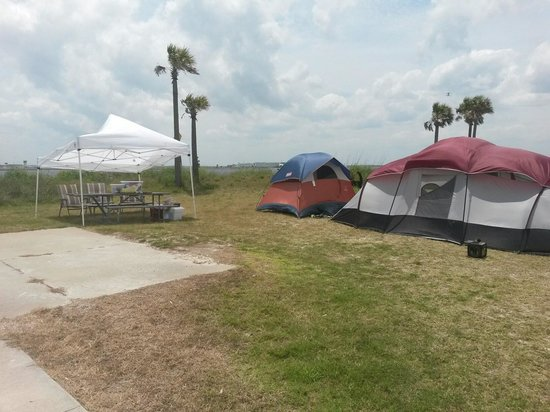 Condo Command Tent  Have been Spoiled to RV's over the last