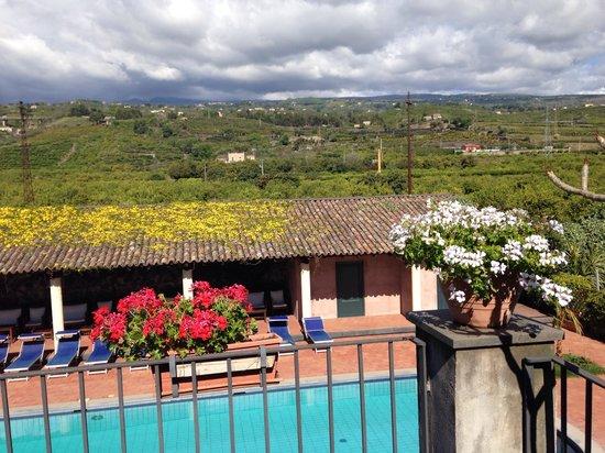Etna Hotel: Pool