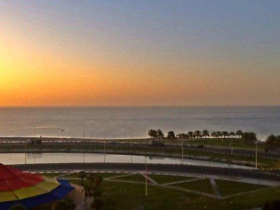 Sunrise along the Persian Gulf at Le Meridien Al Khobar!