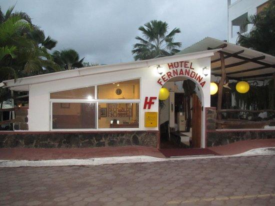 Hotel Fernandina: Welcome!