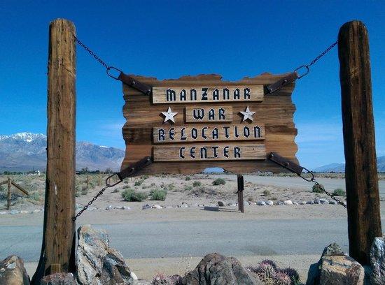 Manzanar National Historic Site : Sign