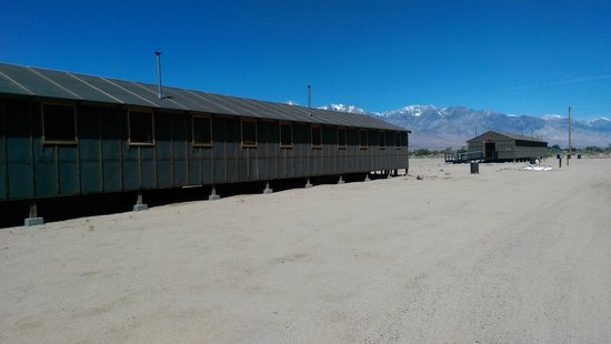 Manzanar National Historic Site : Outside building