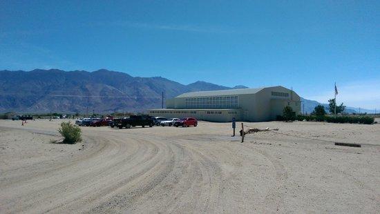 Manzanar National Historic Site : View of Auditorium