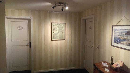 Schwan Hotel & Taverne: enter room 14