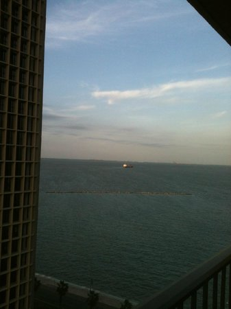 Holiday Inn Corpus Christi Downtown Marina: View of the bay from the room