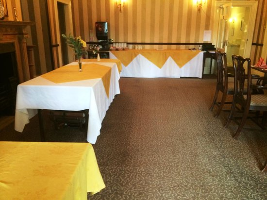 Stratton House Hotel: dining room entry, looks like the store room