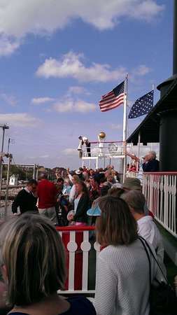 Steamboat Natchez: Onboard!