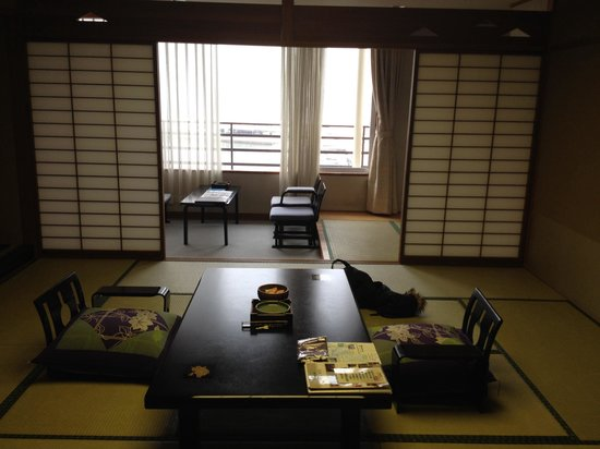 Todaya : My room. Could see mikimoto pearl island from the window. Service was great as well.