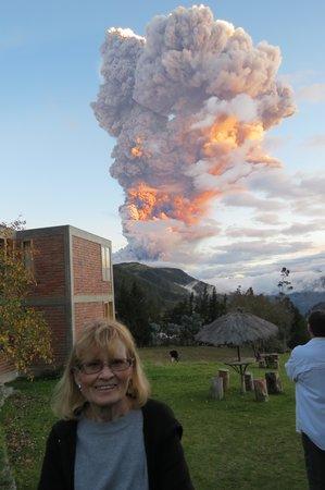 Hacienda Manteles: Tungurahua Volcano  Eruption April 4, 2014