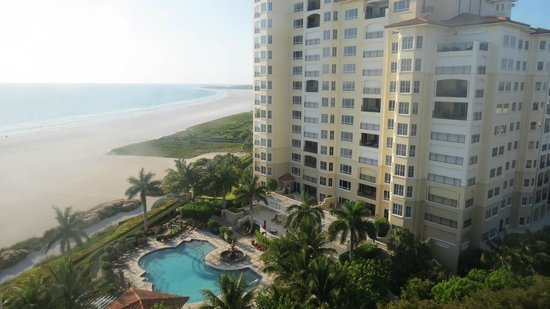 JW Marriott Marco Island Beach Resort : view from our room