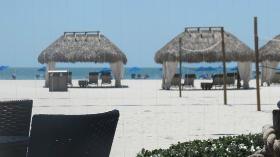 JW Marriott Marco Island : view from Quinn's restaurant