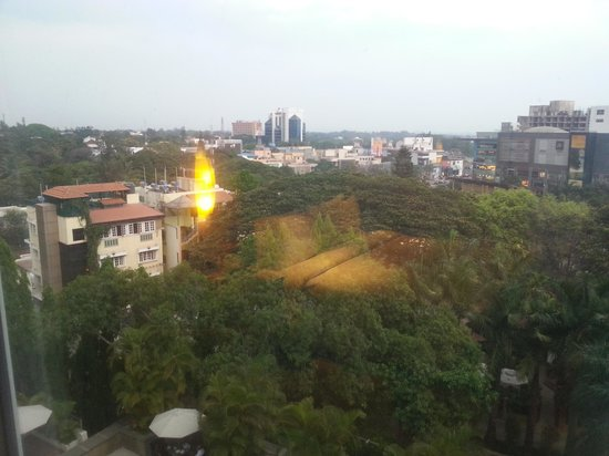 The Gateway Hotel on Residency Road : View from my room