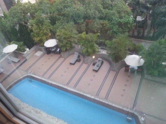 The Gateway Hotel on Residency Road : Pool view from room