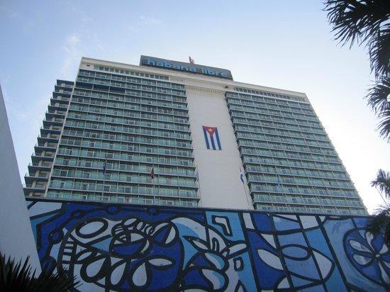 Hotel Tryp Habana Libre desde fuera