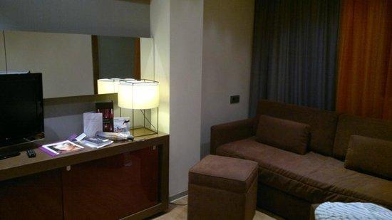 Ayre Gran Hotel Colon: Двухместный номер, гостиная