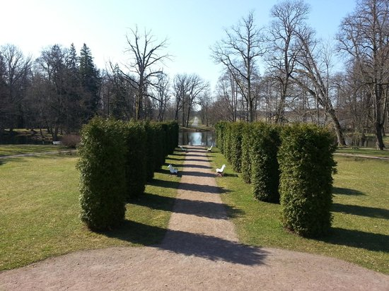Sagadi Manor Hotel: Right beside the hotel is manor and a beautiful garden