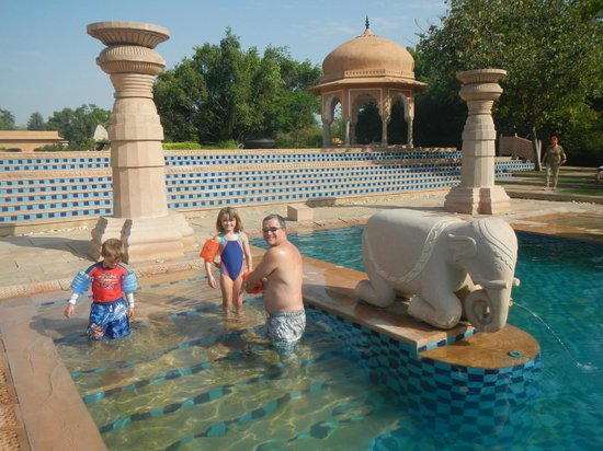 The Oberoi Rajvilas : Pool