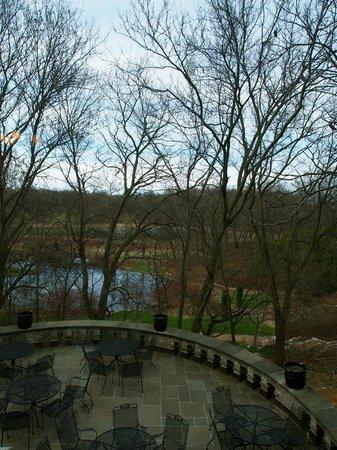 Minnesota Landscape Arboretum: view during the walk