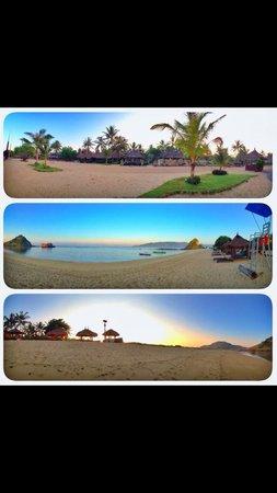 Novotel Lombok Resort and Villas : Novotel private beach