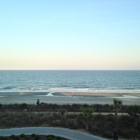 Holiday Sands North: View from room 413-South tower