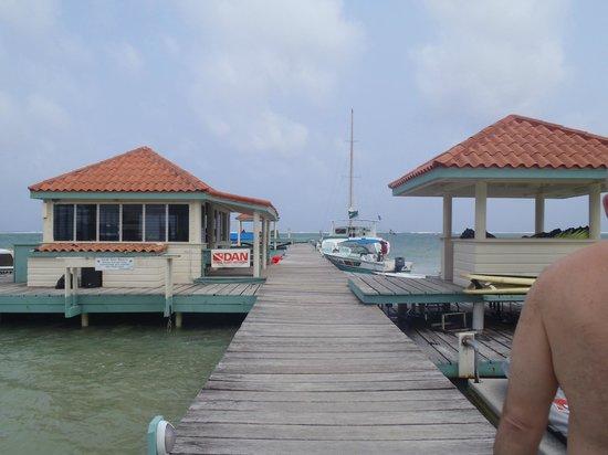 Belizean Shores Resort : docks