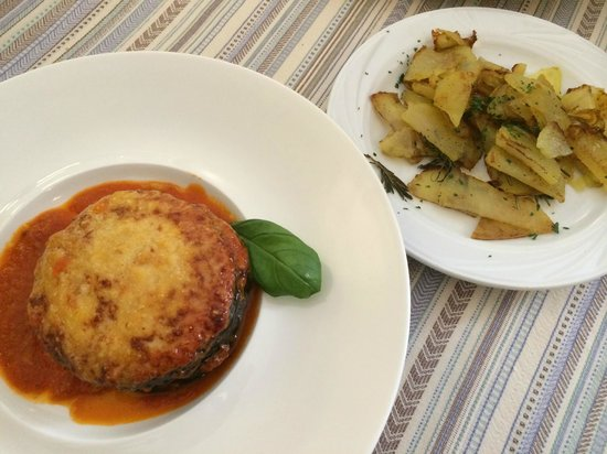 Osteria Anfiteatro : Delicious main course (vegetarian)