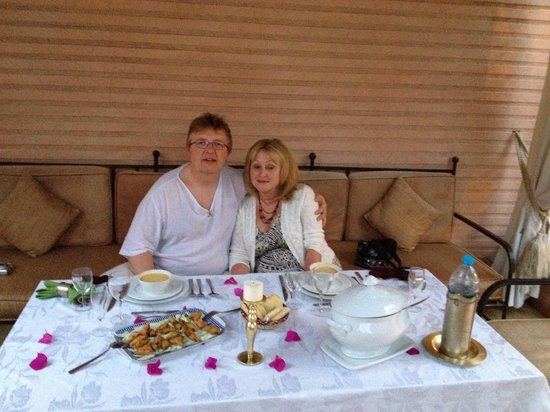 Riad Ilayka : Lovely meal at the Riad