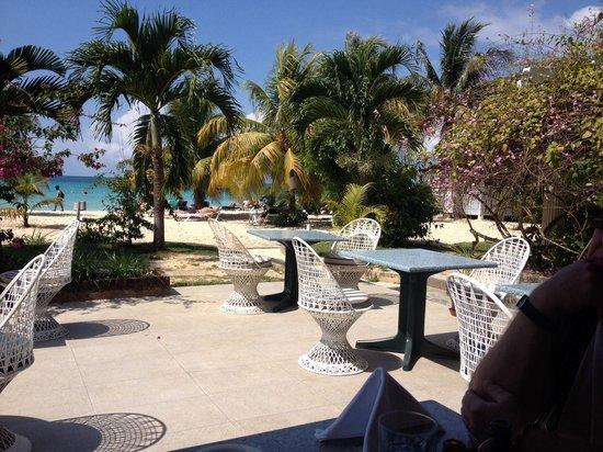 Charela Inn / Le Vendome: View from the restaurant