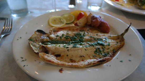 On the Veranda Restaurant : Trout with lemon butter