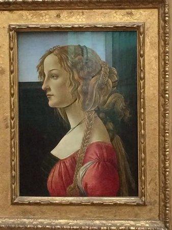 Gemäldegalerie: Botticelli lady