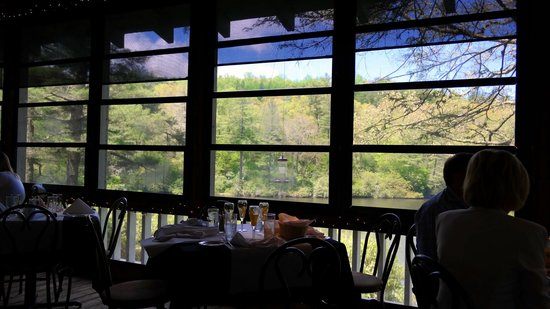 On the Veranda Restaurant : View from the porch On The Verandah