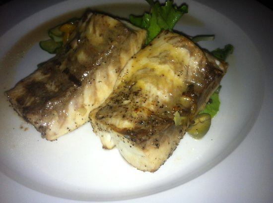 Fishing Adventures: The Mahi for dinner at the hotel