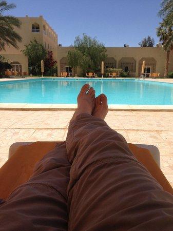 Hotel Sahara Douz: pool side
